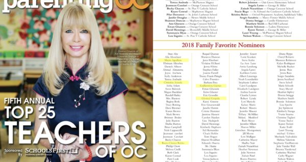 Parenting OC Magazine's family favorites nominees