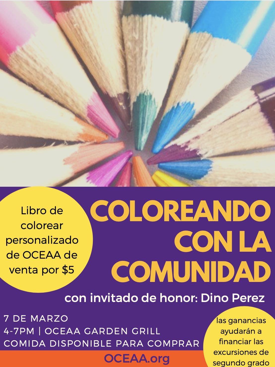 Coloring with the Community with Dino Perez - oceaa.org