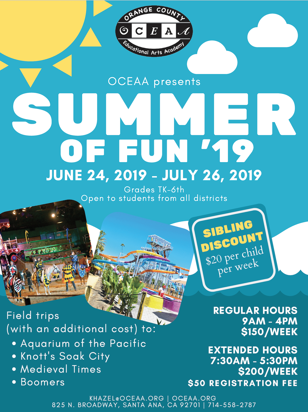 Summer of Fun - OCEAA.org