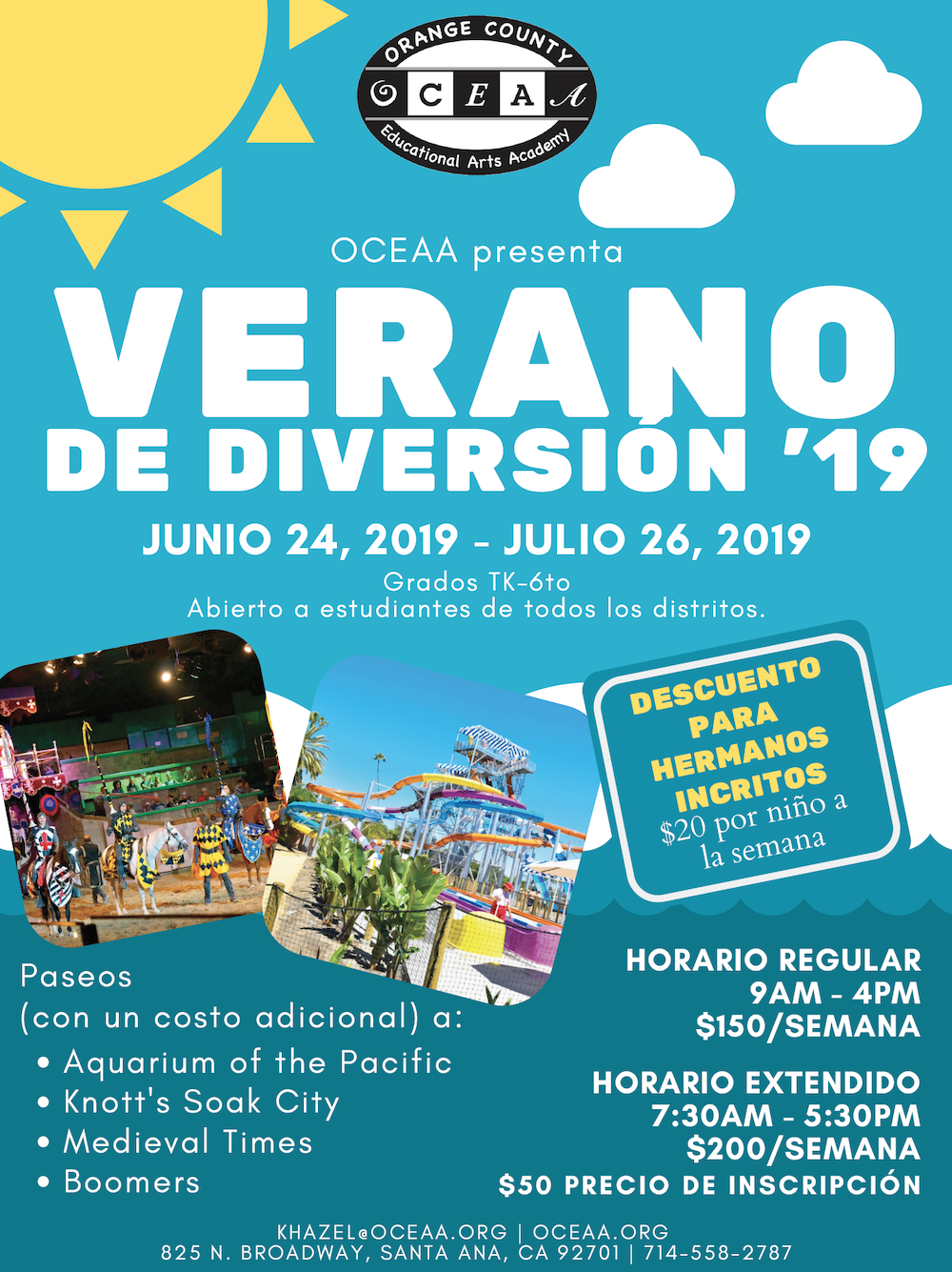 Verano de diversion - OCEAA.org