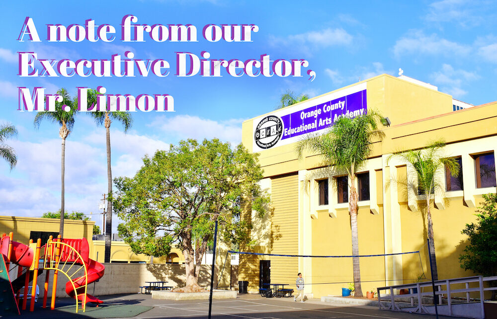 Note from Executive Director, Mr. Limon - oceaa.org