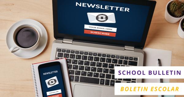 OCEAA School Bulletin | Boletin escolar de OCEAA