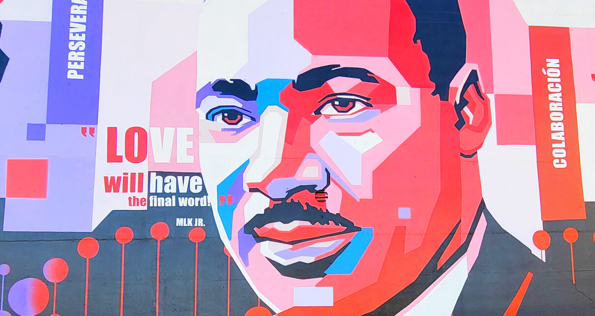 Martin Luther King, Jr. mural